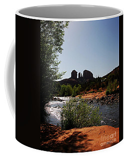 Coffee Mug featuring the photograph Cathedral Rock by Mel Steinhauer