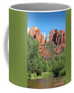 Coffee Mug featuring the photograph Cathedral Rock Sedona by Jemmy Archer