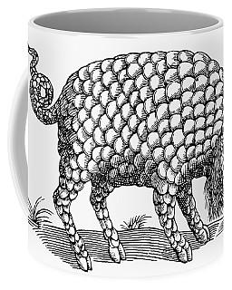 Catoblepas Monster, 1658 Coffee Mug