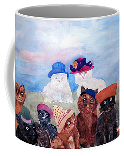 Cats In Hats Coffee Mug