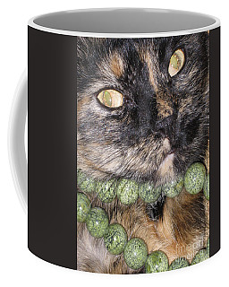 One In A Million... Beauty Of Cat's Eyes. Hello Pearl Collection Coffee Mug