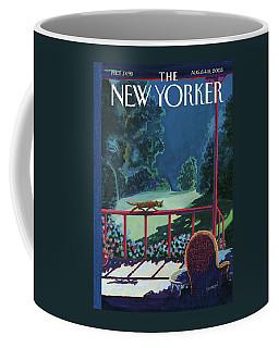 Cats Night Coffee Mug