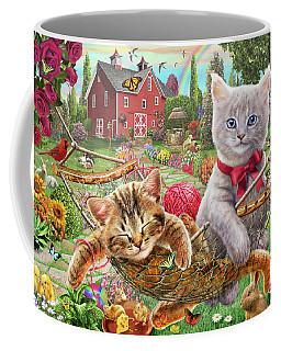 Cats On The Farm Coffee Mug