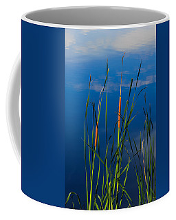 Cattails At Overholster Coffee Mug by Doug Long