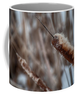 Coffee Mug featuring the photograph Cattails by Bianca Nadeau