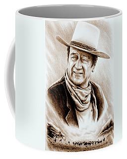 Cattle Drive Sepia Soft Coffee Mug