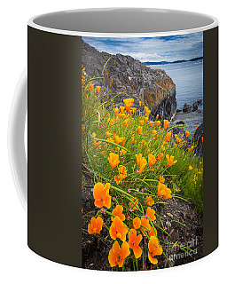 Cattle Point Poppies Coffee Mug