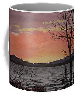Caucomgomoc Lake Sunset In Maine Coffee Mug
