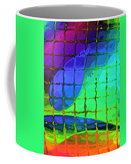 Caught In My Color Net On Venus Coffee Mug