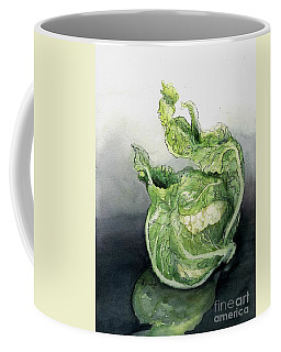 Cauliflower In Reflection Coffee Mug