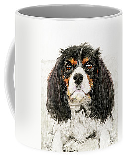 Cavalier King Charles Spaniel Painting Coffee Mug