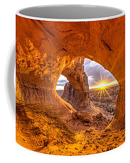Coffee Mug featuring the photograph Cave Arch by Dustin  LeFevre