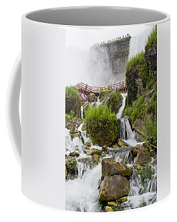 Cave Of The Winds At Niagara Falls Coffee Mug