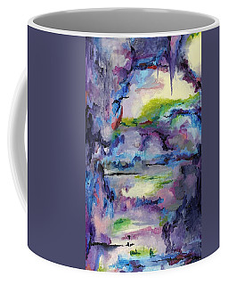 Cave Painting Coffee Mug by Regina Valluzzi