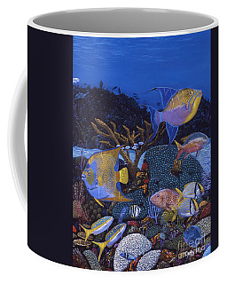Cayman Reef 1 Re0021 Coffee Mug
