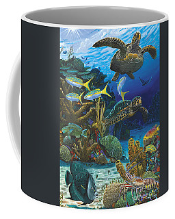 Cayman Turtles Re0010 Coffee Mug