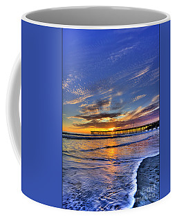 Coffee Mug featuring the photograph Cayucos Sunset by Beth Sargent