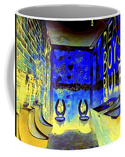 Cbgb's Notorious Mens Room Coffee Mug