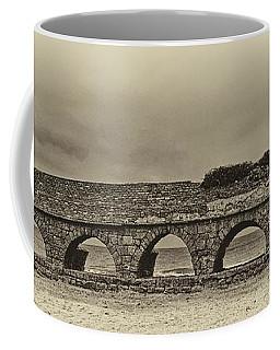 Ceasarea Aqueduct 1 Antiqued Coffee Mug