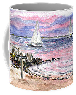 Cedar Beach Pinks Coffee Mug