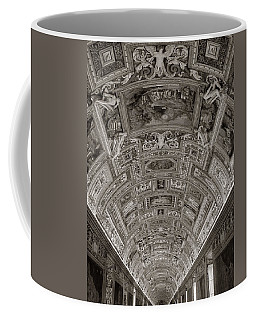 Ceiling Of Hall Of Maps Coffee Mug