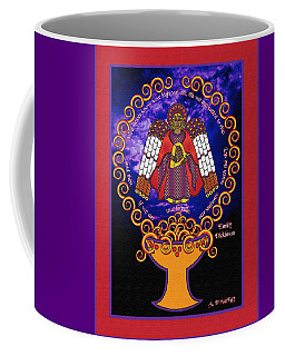 Celtic Angel Rising Coffee Mug