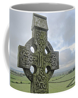 Coffee Mug featuring the photograph Celtic Cross by Suzanne Oesterling