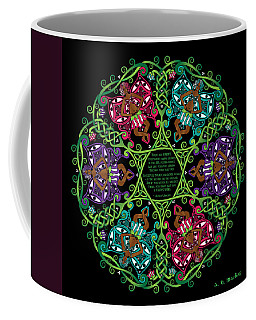Celtic Fairy Mandala Coffee Mug