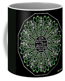 Celtic Flower Of Death Coffee Mug