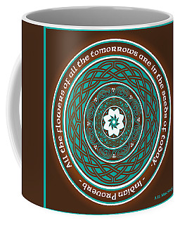 Celtic Lotus Mandala Coffee Mug