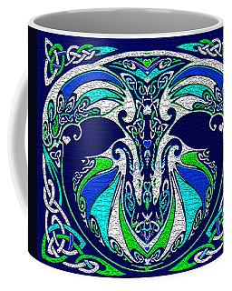 Celtic Love Dragons Coffee Mug