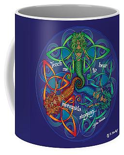 Celtic Mermaid Mandala Coffee Mug