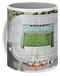Celtic Park Stadia Art - Celtic Fc Coffee Mug