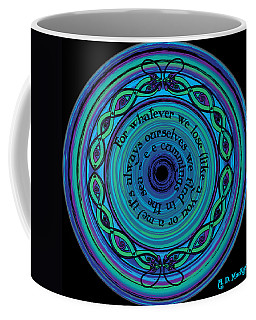 Celtic Sea Serpents Coffee Mug