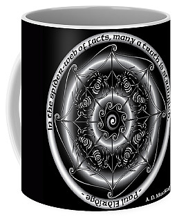 Celtic Spider Mandala Coffee Mug