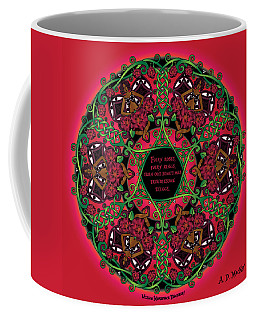 Celtic Summer Fairy Mandala Coffee Mug
