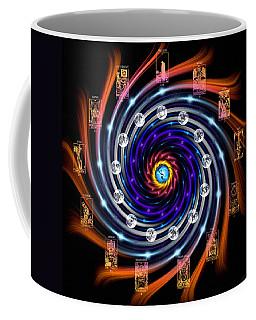 Celtic Tarot Moon Cycle Zodiac Coffee Mug
