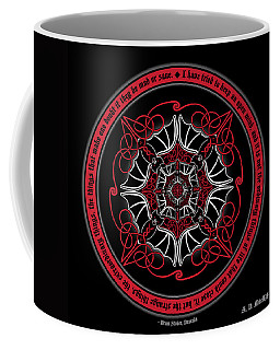Celtic Vampire Bat Mandala Coffee Mug