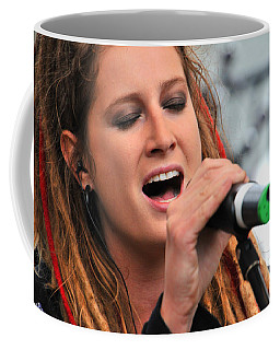 Coffee Mug featuring the photograph Celtica's Josy Svajda by Mike Martin