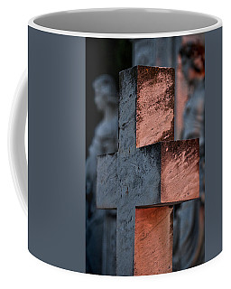 Cemetery Cross - Hvar Croatia Coffee Mug