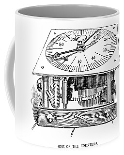 Census Machine, 1890 Coffee Mug