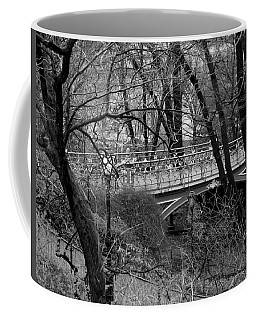 Central Park 2.1 Black And White Coffee Mug by Chris Thomas