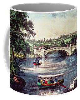 Central Park   The Bridge  Coffee Mug
