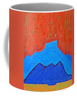 Cerro Pedernal Original Painting Sold Coffee Mug