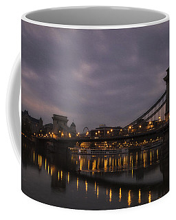 Chain Bridge Dawn Coffee Mug