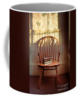 Chair And Lace Shadows Coffee Mug