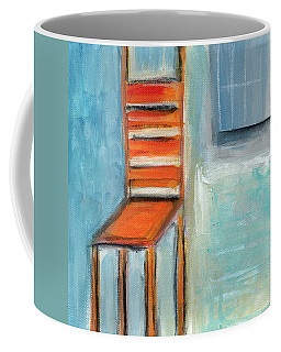 Chair By The Window- Painting Coffee Mug