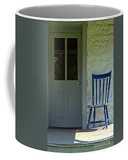 Chair On Farmhouse Porch Coffee Mug