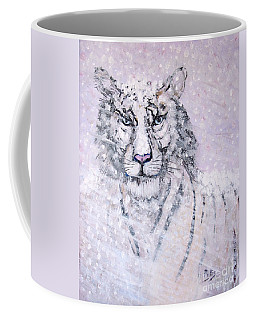 Coffee Mug featuring the painting Chairman Of The Board by Phyllis Kaltenbach