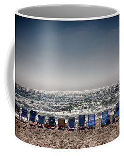 Chairs Watching The Sunset Coffee Mug